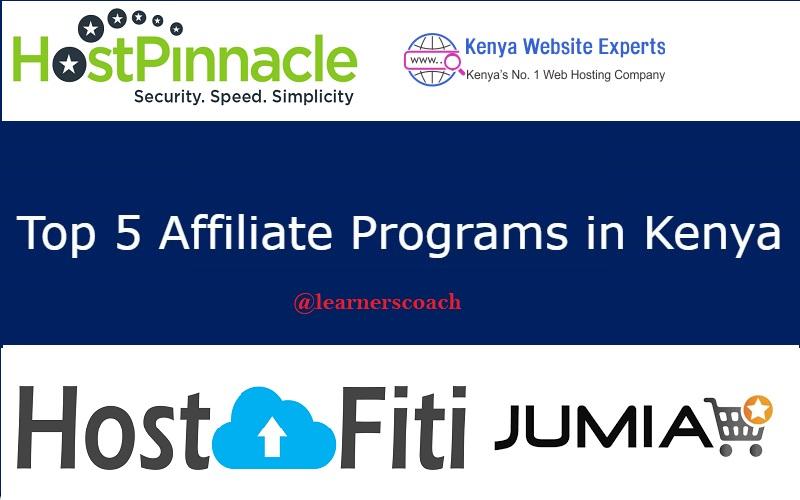 Affiliate programs in Kenya learnercoach