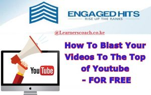 How To Rank Your Videos To The Top of YouTube Using Engaged Hits