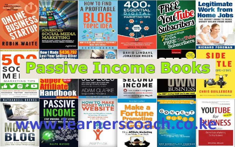 Passive Income Books learnerscoach