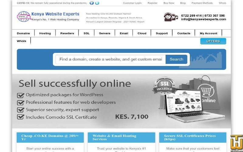 Kenya Website Experts – The Best Website Hosting Company in Kenya